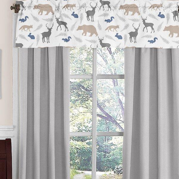 Woodland Animals Window Curtain Valance by Sweet Jojo Designs