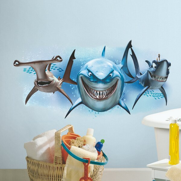 Finding Nemo Sharks Giant Wall Mural by Room Mates