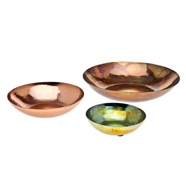3 Piece Salad Plate Set by Godinger Silver Art Co