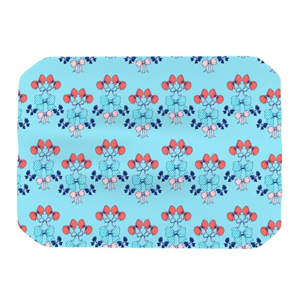 Bows Placemat by KESS InHouse