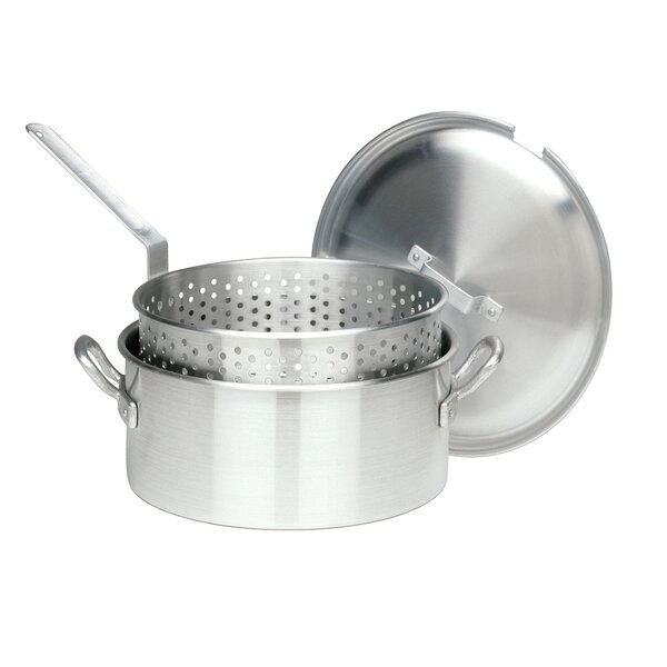 13 Non-Stick Frying Pan with Lid by Bayou Classic
