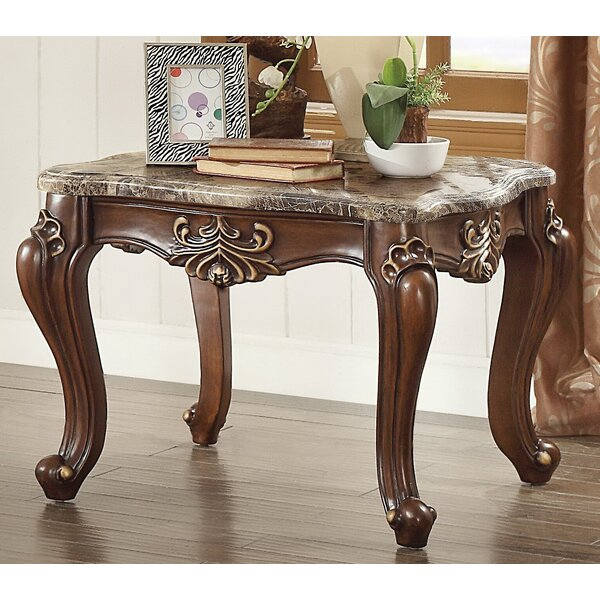 Roark End Table by Fleur De Lis Living