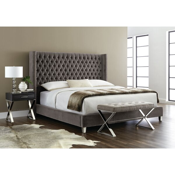 Aranda Upholstered Platform Bed by Everly Quinn