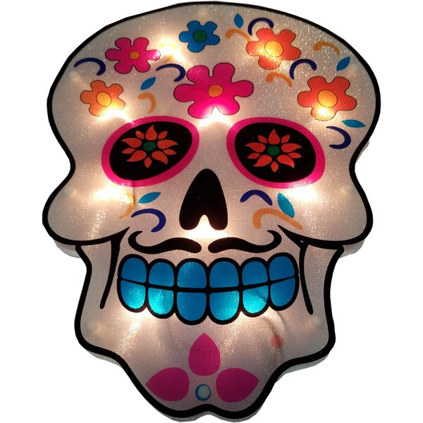 Day of the Dead Glazed 10 Light Lighting Accessory by The Holiday Aisle