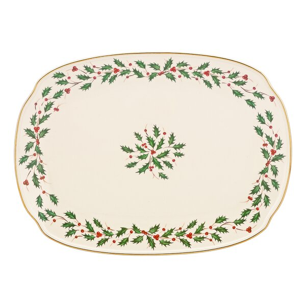 Holiday Oblong Platter by Lenox