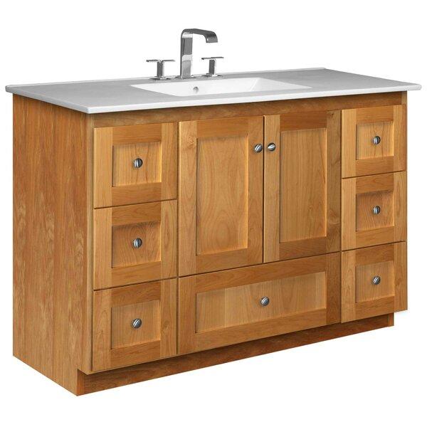Simplicity 49 Single Bathroom Vanity Set by Strasser Woodenworks