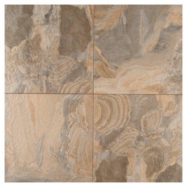Platino 18 x 18 Porcelain Field Tile in Saphia by MSI