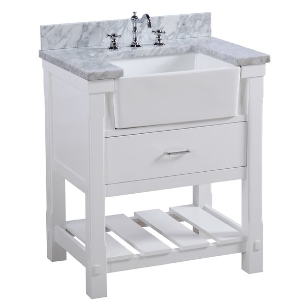 Charlotte 30 Single Bathroom Vanity Set by Kitchen Bath Collection