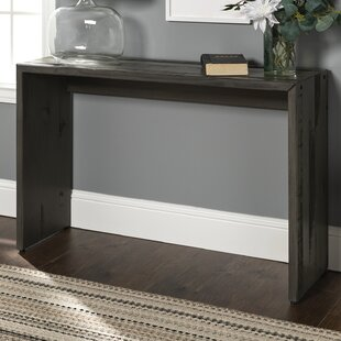 Arocho Solid Reclaimed Wood Console Table by Loon Peak