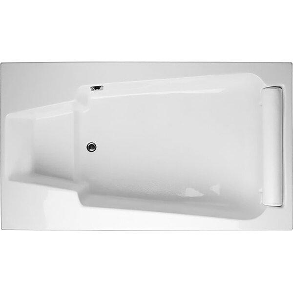 Designer Premier 72 x 36 Soaking Bathtub by Hydro Systems