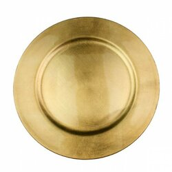 Präsentierteller Gold