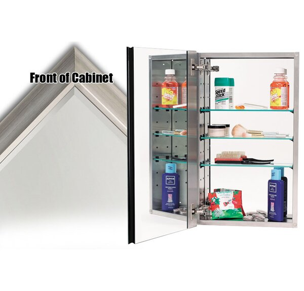 15 x 25 Recessed Medicine Cabinet by Alno Inc