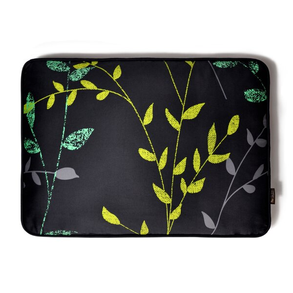 Backyard Greenery Rectangular Dog Pillow by P.L.A.Y.
