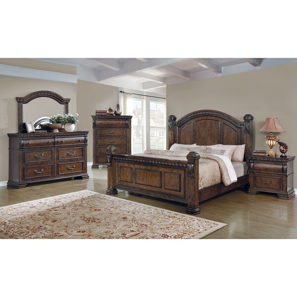 Brock Standard Bed by Fleur De Lis Living