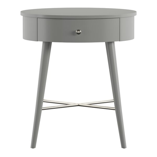 Lugenia End Table With Storage By Wrought Studio