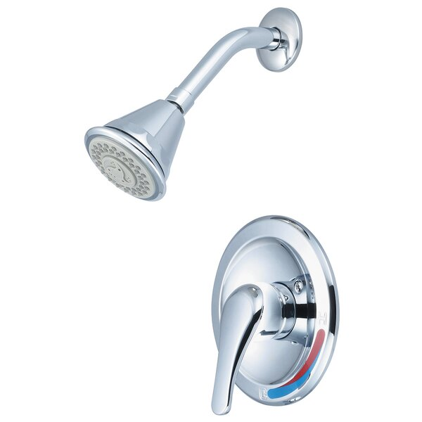Elite Single Handle Volume Control Shower Faucet by Olympia Faucets Olympia Faucets