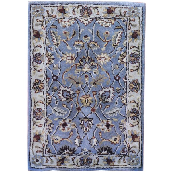 Hand-Tufted Gray Area Rug by Herat Oriental