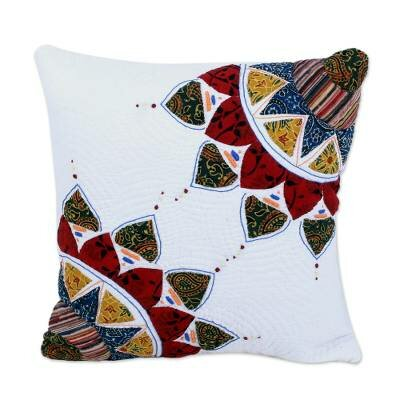 Chattanooga Pure Beauty Quilted Cotton Pillow Cover by World Menagerie
