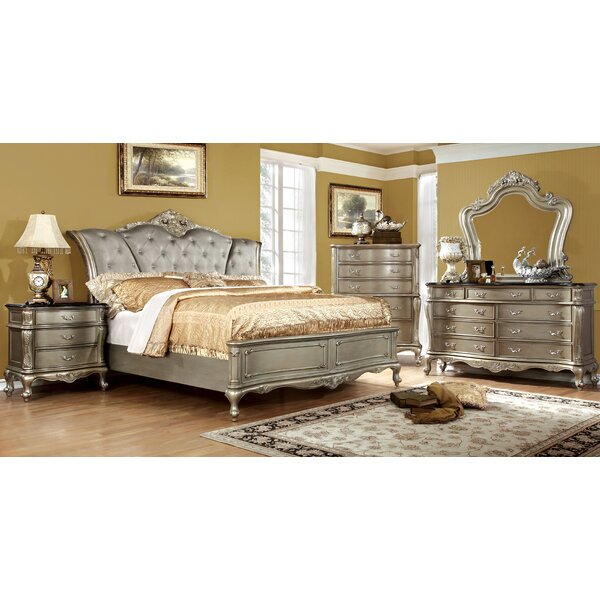 Cameron Upholstered Standard Bed by House of Hampton