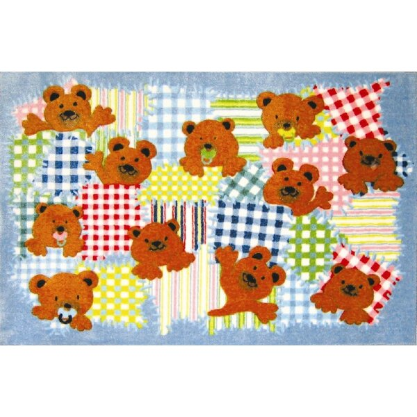 Supreme Patches Bear Area Rug by Fun Rugs