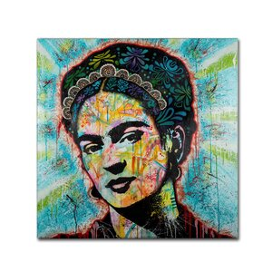 'Frida' Graphic Art Print on Wrapped Canvas by Trademark Fine Art
