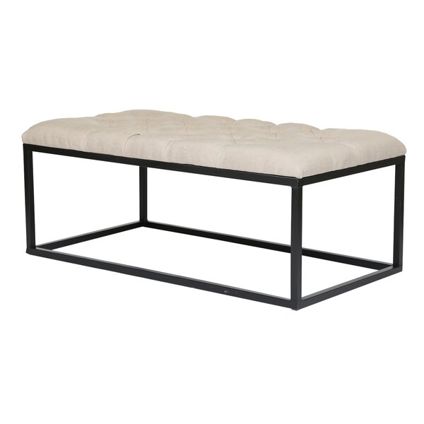 Madama Upholstered Bench by Ivy Bronx