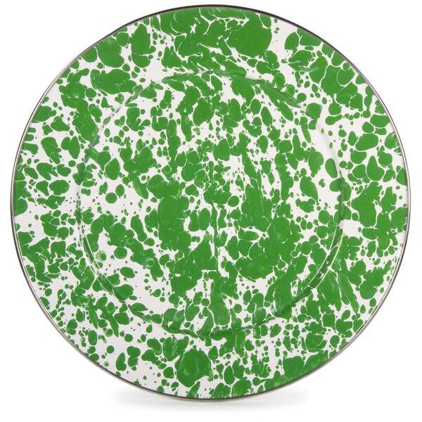 Volney Swirl Platter by Ebern Designs