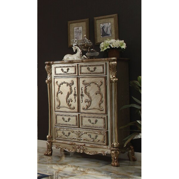 Selma 4 Drawer Combo Dresser by Astoria Grand