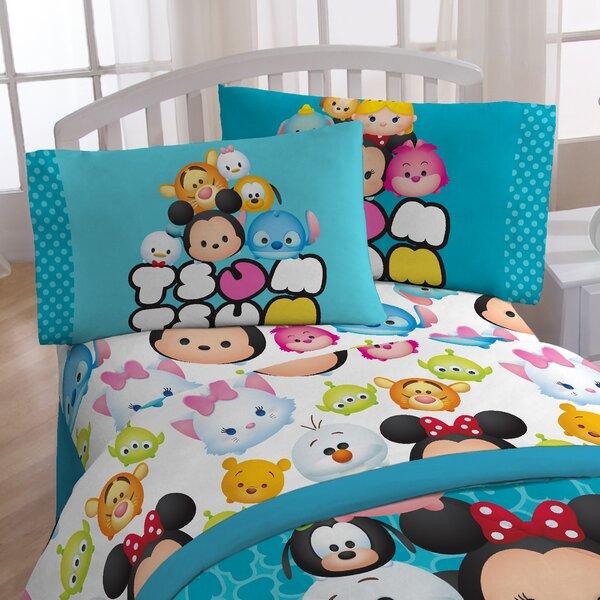 Tsum Tsum Mashup 3 Piece Sheet Set by Disney