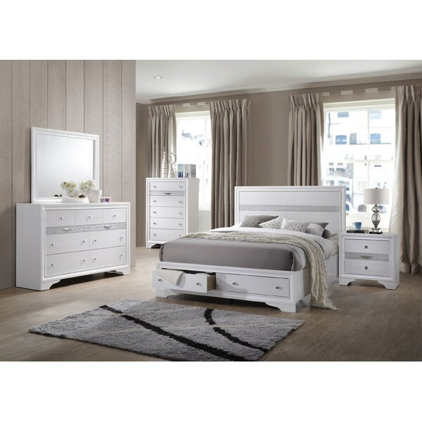 Smartt Standard 5 Piece Bedroom Set by House of Hampton