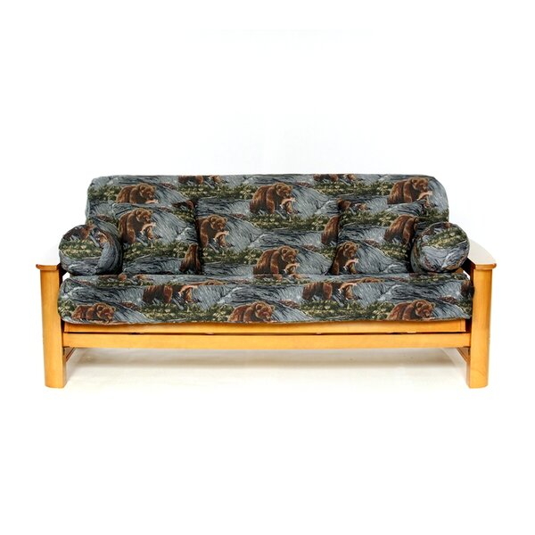 Salmon Creek Box Cushion Futon Slipcover by Lifestyle Covers