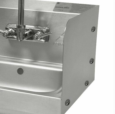 Bolted Side Splash for Sinks by Advance Tabco