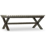 Vintage West Cross Legs Coffee Table by Hooker Furniture