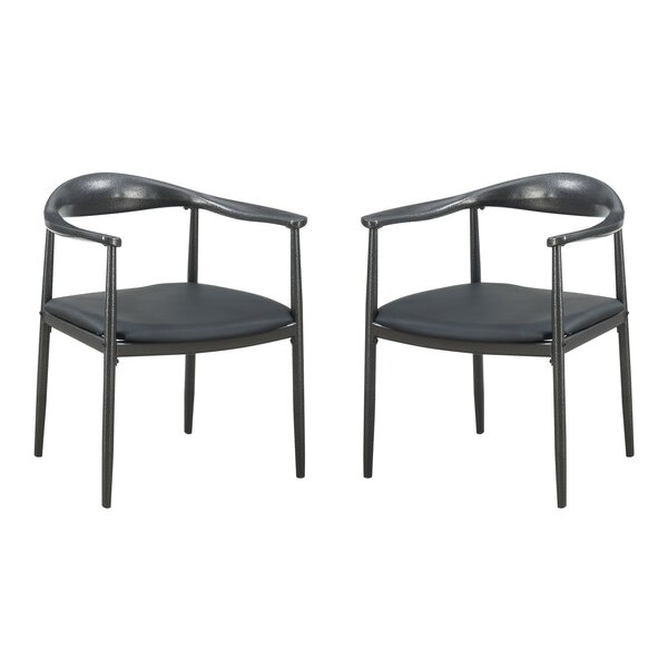 Beeley Upholstered Dining Chair (Set of 2) by Ivy Bronx