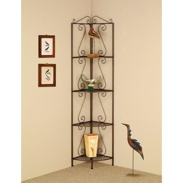 Clemens Corner Unit Bookcase by Fleur De Lis Living