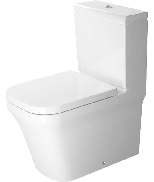 P3 Comforts 1.28 GPF (Water Efficient) Elongated Two-Piece Toilet (Seat Not Included) by Duravit