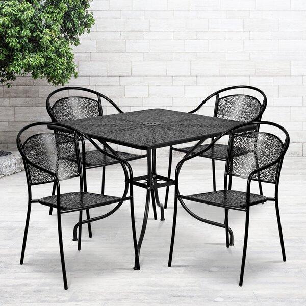 Delpha 5 Piece Dining Set by Zipcode Design