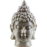 Clermont Modern Ceramic Buddha Bust