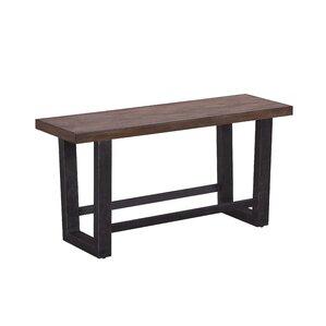 Quillen Counter Height Wood Bench by Brayden Studio