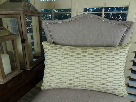 Winding Road Zest Handmade Throw Pillow by Plutus Brands