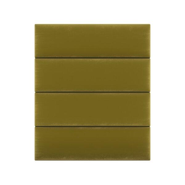 Velvet Wall Paneling in Olive Moss by Vant Panels