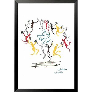 'Dance of Youth' by Pablo Picasso Framed Painting Print by Buy Art For Less