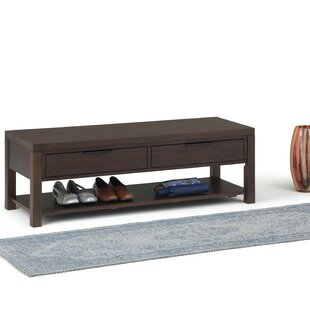 Mcadams Entryway Wood Storage Bench