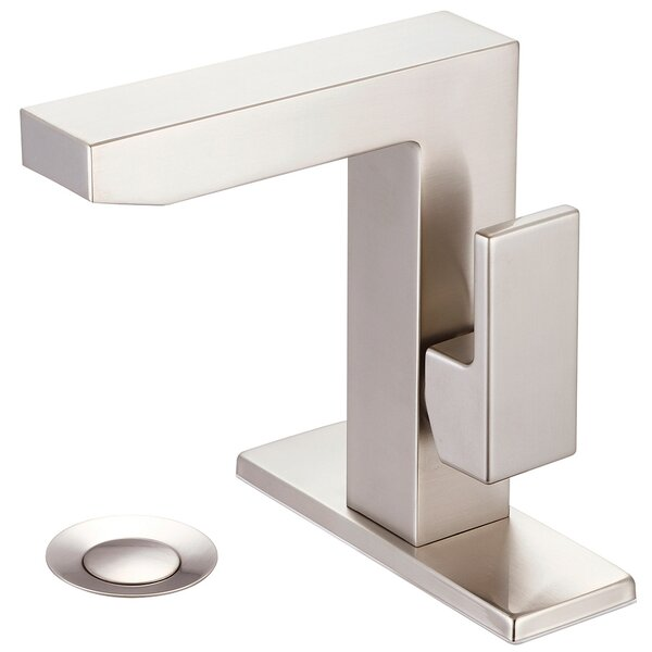Mod Bathroom Faucet with Deck Cover Plate by Pioneer