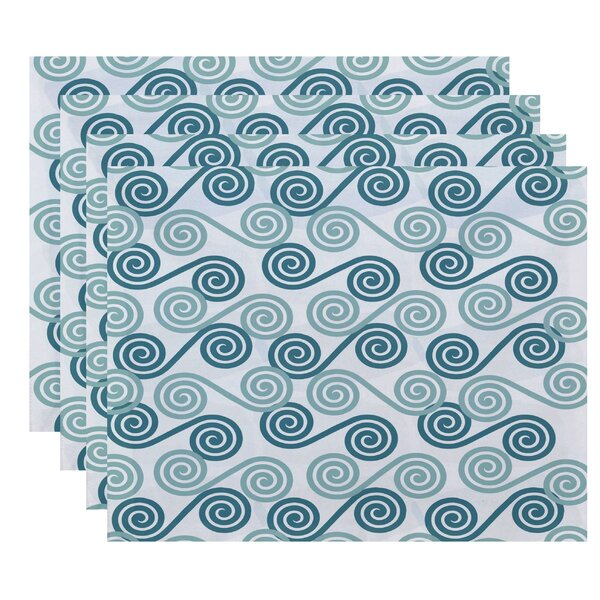 Nikkle Rip Curl Placemat (Set of 4) by Latitude Run