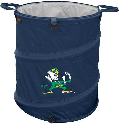Collegiate Trash Can - Notre Dame by Logo Brands