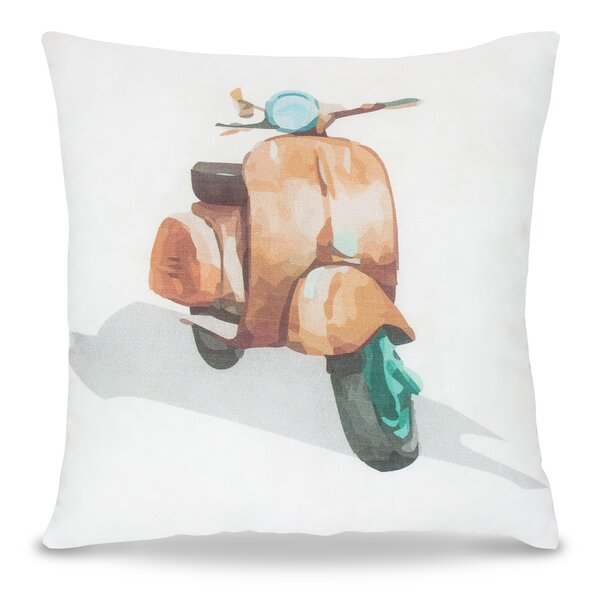Lodd Motorbike Pillow by Zoomie Kids