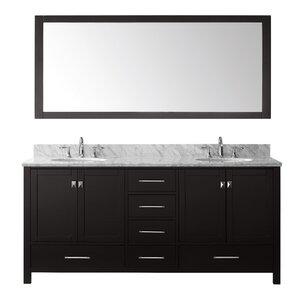 Shop 9 952 bathroom vanities wayfair Applebaum 24 single bathroom vanity set