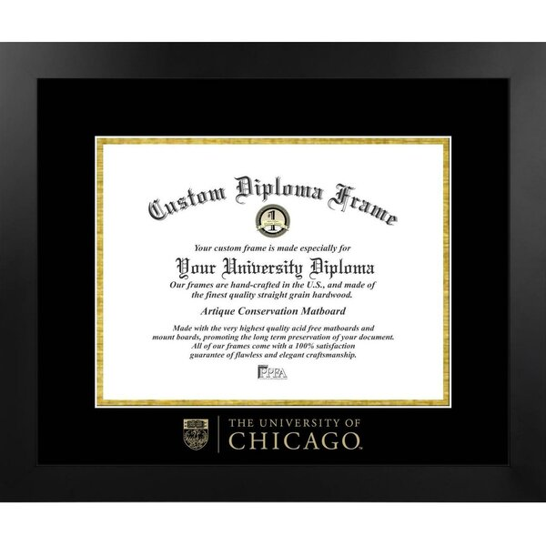 The Contemporary University of Chicago Picture Frame by Diploma Frame Deals