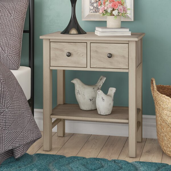 Aguirre 2 Drawer Nightstand by Lark Manor